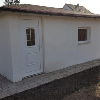 Gartenhaus gemauert