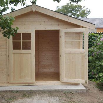 Fundamentplatte für Gartenhütte